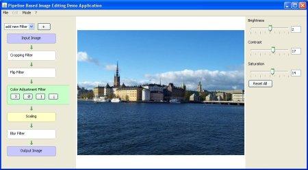 Screenshot der Software PipelineManager